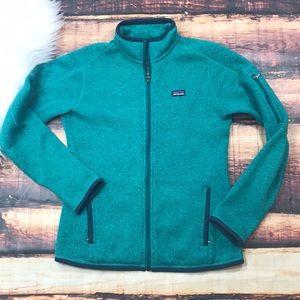 Patagonia Women's Teal Zip Up Jacket